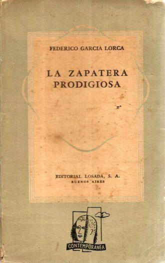 La Zapatera Prodigiosa, de Federico García Lorca. / Foto: www.todocoleccion.net