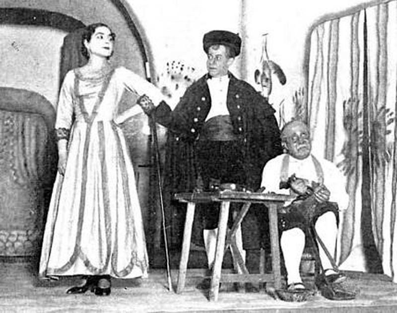Estreno de La Zapatera prodigiosa por Margarita Xirgu, 1930.