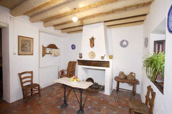 Museo Casa-Natal de Federico García Lorca en Fuente Vaqueros. Cocina.