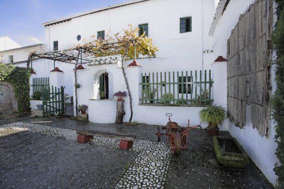 Patio de la Casa-Museo de Valderrubio de la familia de Federico García Lorca.