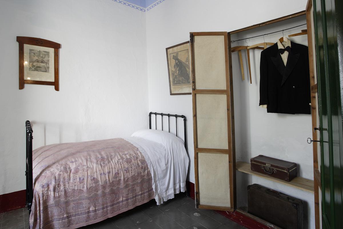 Dormitorio de Federico García Lorca en la casa familiar de Valderrubio.