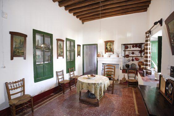 Cocina de la vivienda familiar de Federico García Lorca en Valderrubio.