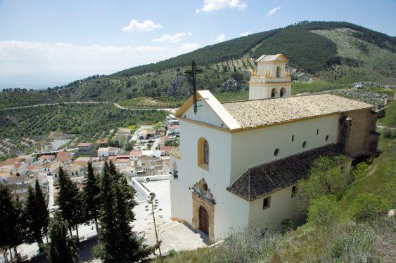 Santuario del Cristo del Paño de Moclín.