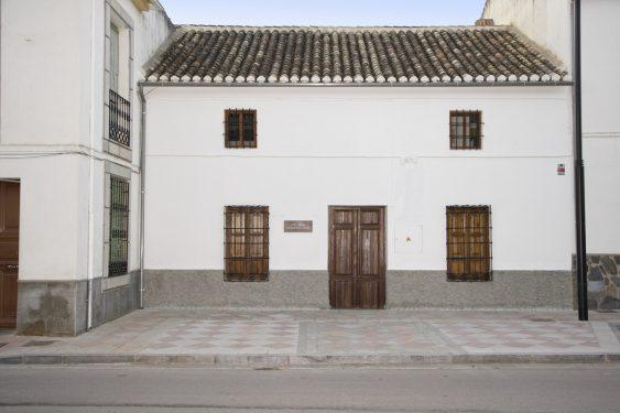Casa de Frasquita Alba, en Valderrubio. En las vivencias de los habitantes de esta casa se basó Federico García Lorca para su obra 'La Casa de Bernarda Alba'.