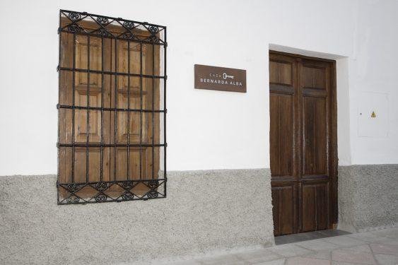Casa de Frasquita Alba, en Valderrubio, hoy convertida en museo. En las vivencias de los habitantes de esta casa se basó Federico García Lorca para su obra 'La Casa de Bernarda Alba'. Ficha de Francisca Alba Sierra.