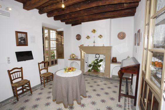 Casa de Frasquita Alba, en Valderrubio, hoy convertida en museo. En las vivencias de los habitantes de esta casa se basó Federico García Lorca para su obra 'La Casa de Bernarda Alba'.