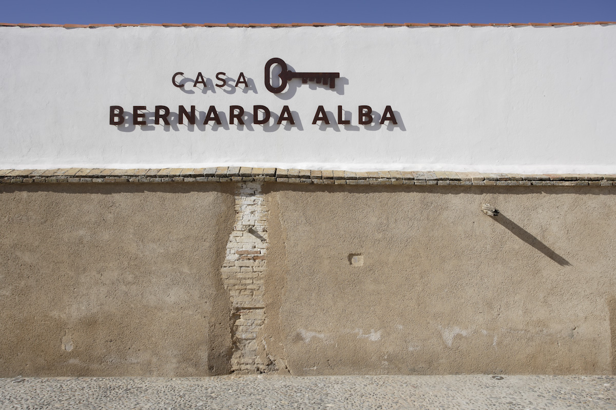 House of Frasquita Alba, in Valderrubio, today converted into a museum. Federico García Lorca based his work 'The House of Bernarda Alba' on the experiences of the inhabitants of this house.