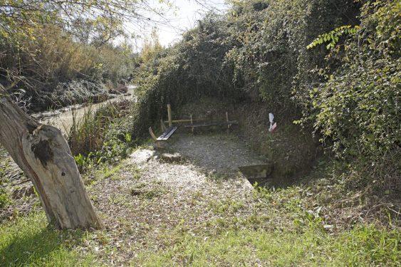 Fuente de la Teja, paraje a la orilla del río Cubillas.