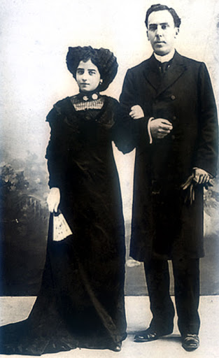 Antonio Machado y Leonor.