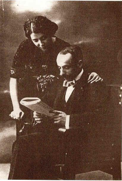 Gregorio Martínez Sierra y María Lejárraga.