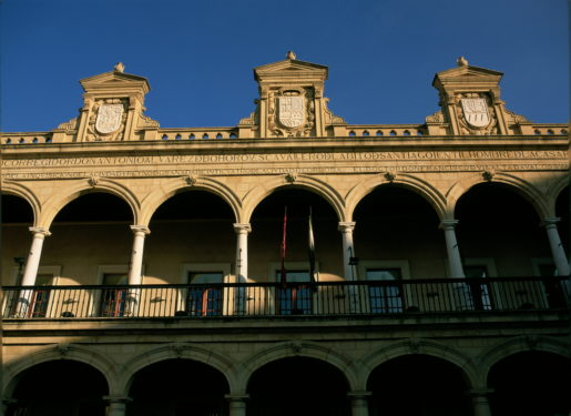 Plaza de Las Palomas de Guadix.