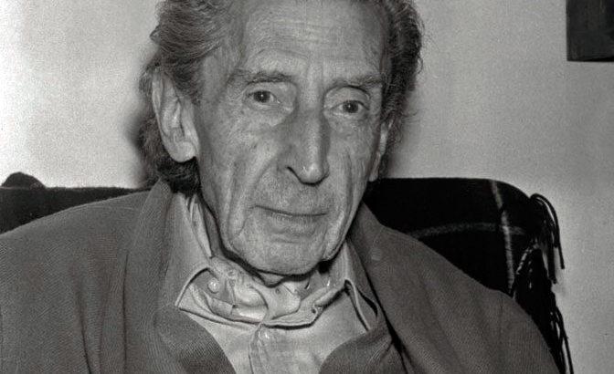 José Bergamín. Foto: Real Academia de la Historia.