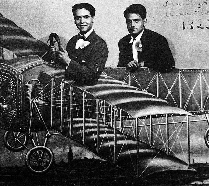 Federico García Lorca y Luis Buñuel.