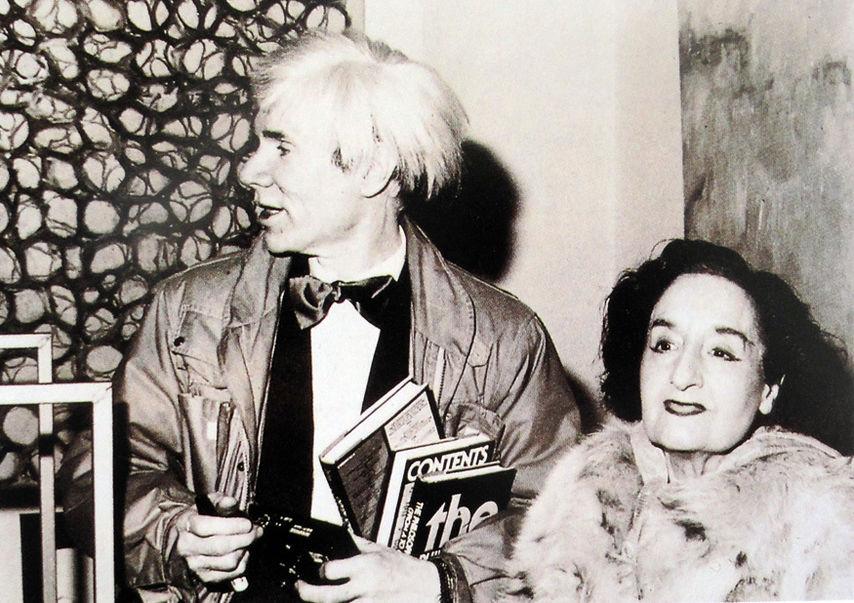 Maruja Mallo y Andy Warhol.