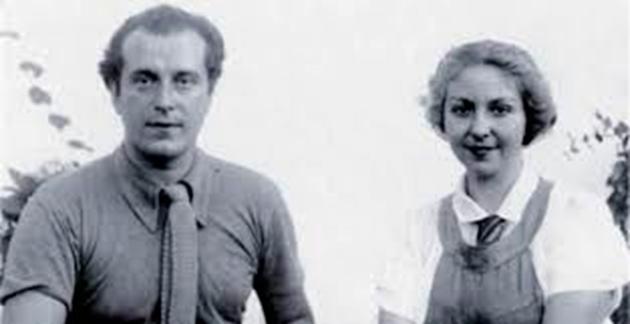 Rafael Alberti y María Teresa León.