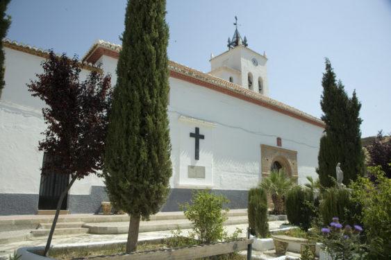 Iglesia de San Martín, en Purullena.