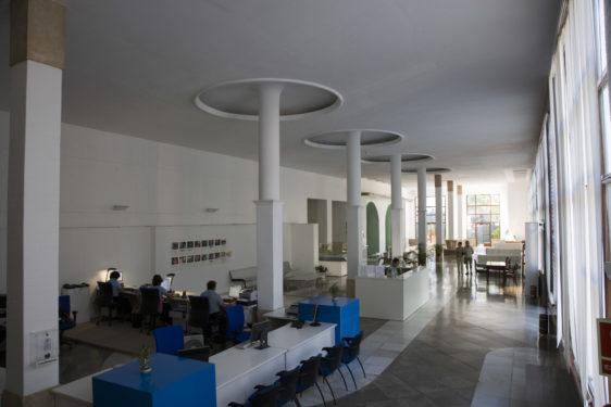 Balneario de Lanjarón. Sala de aguas.