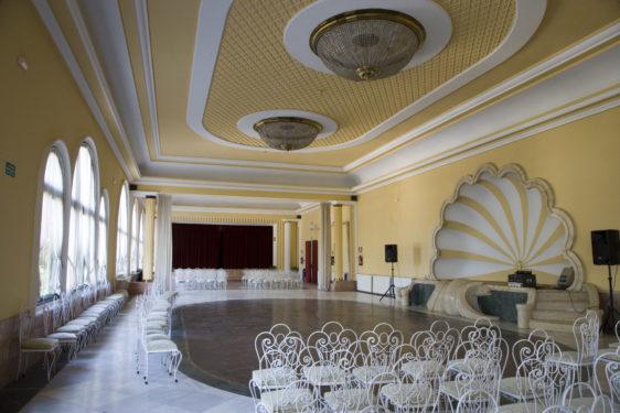 Balneario de Lanjarón. Sala de baile.