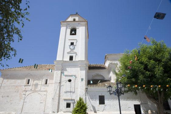 Iglesia Parroquial de Santa Ana. Cáñar.