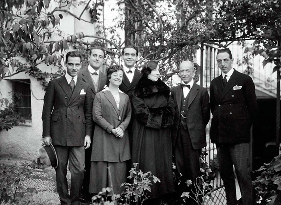 Wanda Landowska en Granada