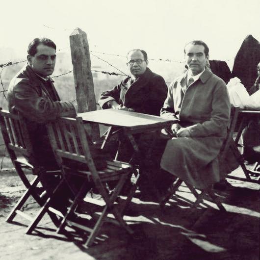 Buñuel, Ugarte y Lorca.