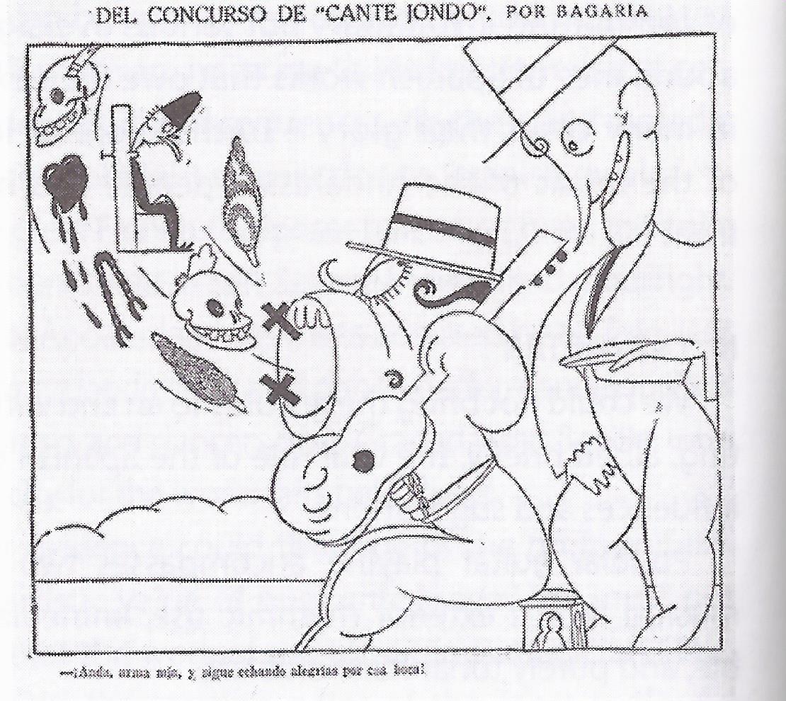 Bagaría, en El Sol (22-6-1922)