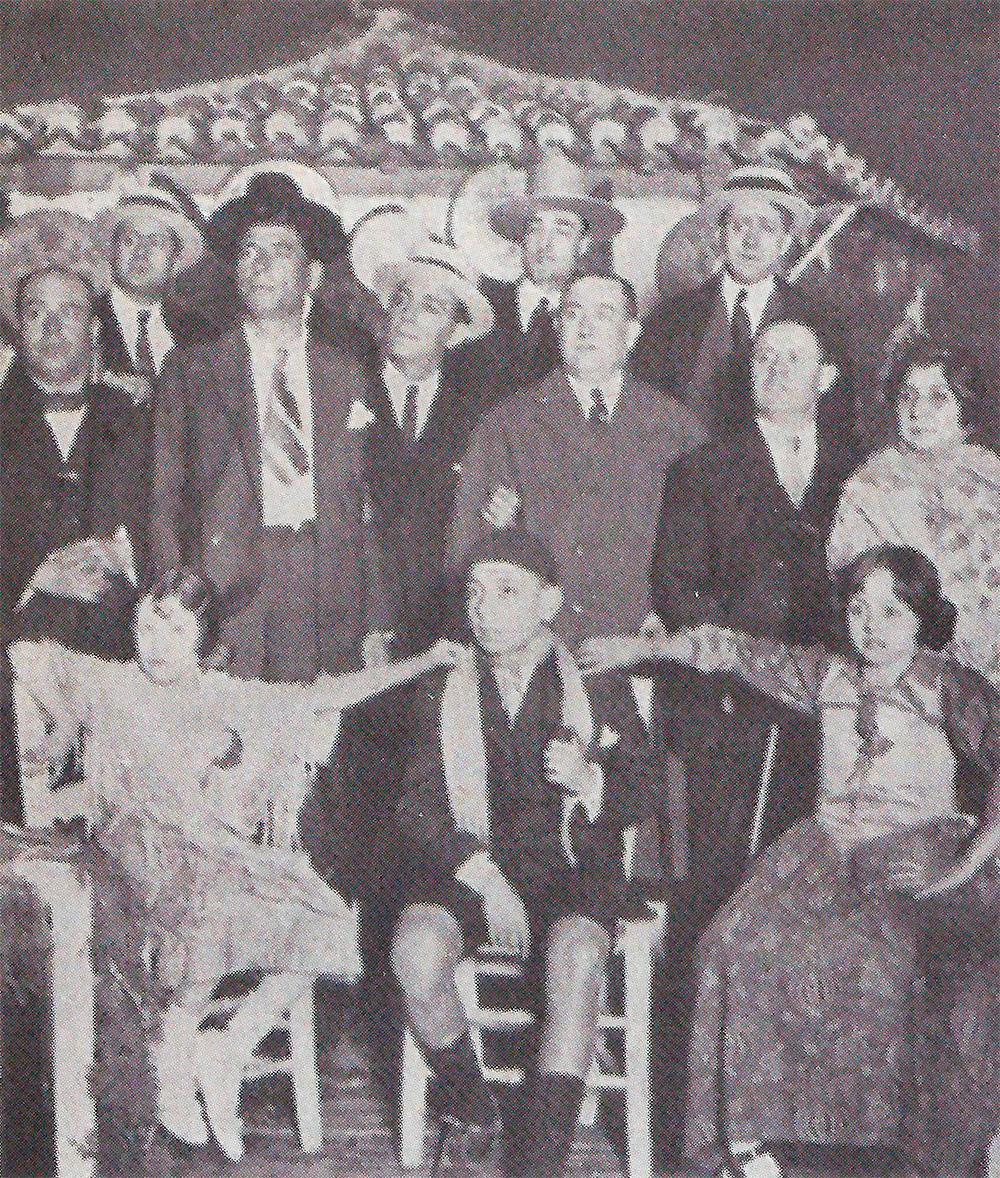 Carmen Salinas, Conchita Sierra y Caracol, entre otros.