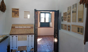 Exhibition of blond tobacco at the FGL House-Museum in Valderrubio.